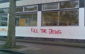 Anti-semitic graffiti in the UK