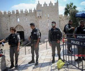 Police Damascus Gate