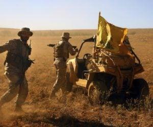 Hezbollah terrorists fighting in Syria