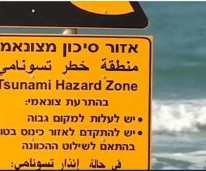 Israel tsunami warning