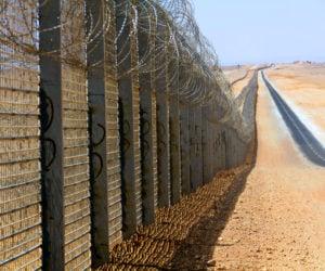 Egypt Israel barrier migrants