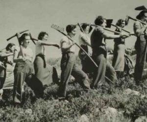 Kibbutz pioneers