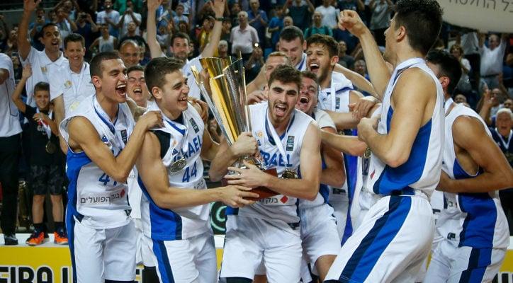 Israel's under-20 basketball team wins back-to-back European championships