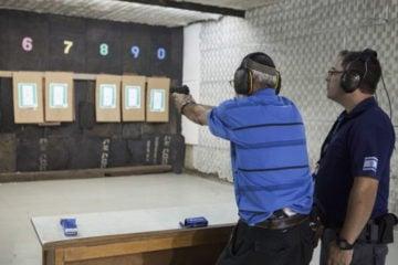 Israeli gun range