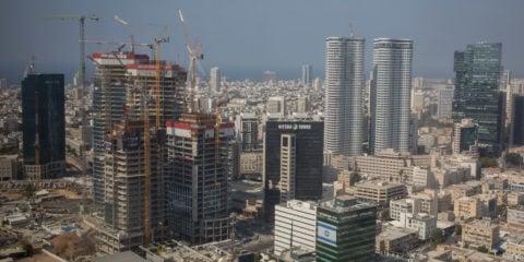 Tel Aviv, Israel's business and commercial hub