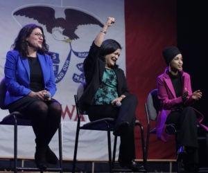 Ilhan Omar, Pramila Jayapal, Rashida Tlaib