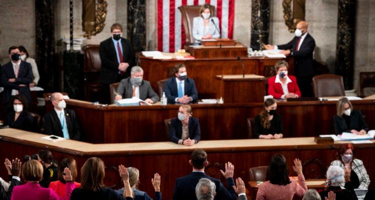 House sends Trump impeachment to Senate but Democratic success dims