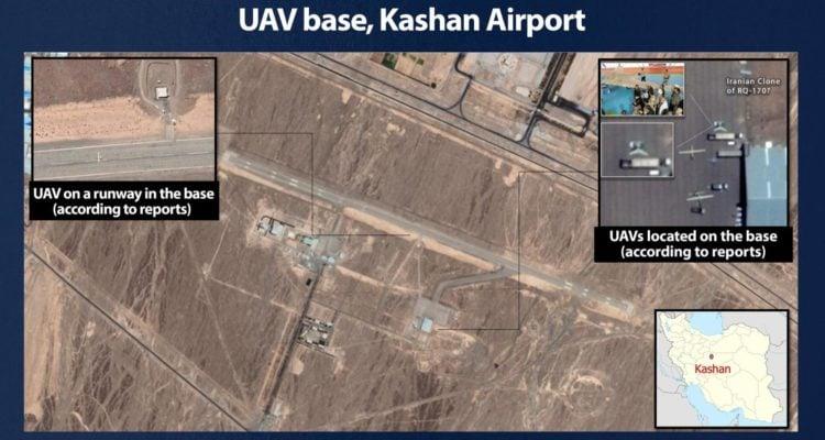 Israel reveals secret Iran base used to train terrorist to operate drones